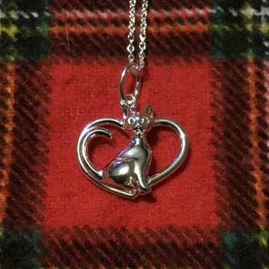Sterling Silver For The Love Of Animals Necklace